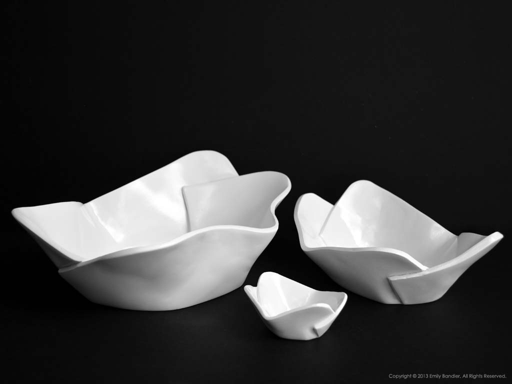 Snack Serving Bowls Copyright © 2013 Emily C. Bandler, All Rights Reserved.