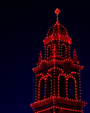 """Country Club Plaza: Clock Tower""
