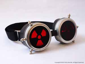 """Cybergoth Goggles""