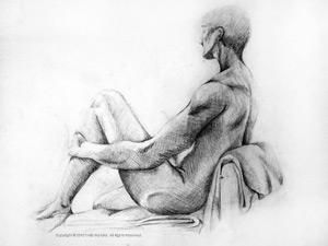 """Figure Study: Cross-hatching""
