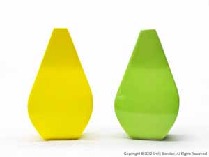 """Yellow and Green Vases""